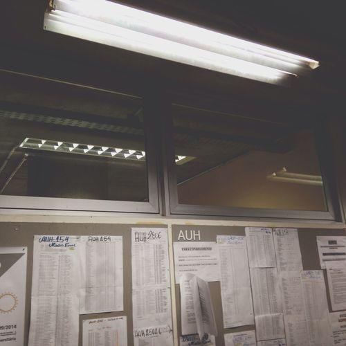 Lamp Office Schedule Board