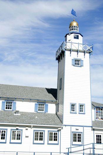 Catalina Island  California Island Blue Blue Sky Ocean Lighthouse Architecture