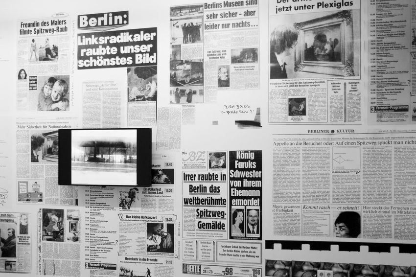 Backgrounds Exhibition Exhibition Urban Scenes Exhibition Exhibit Art Photographic Photograph Photographer Gallery Visitor Watchers Watch See Look Looking Private Public Blurred Blur Out Of Focus Photography Documentary Reportage Street Newspapers Newspapershot No People Photograph Tv Wall