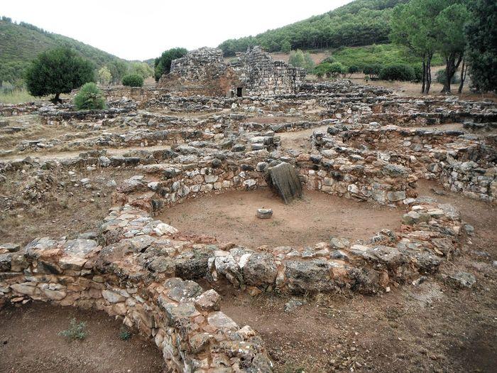 Alghero Ruins Sardinia Sardegna Italy  Ancient Architecture Day Nature Nurage Outdoors Sea And Sky