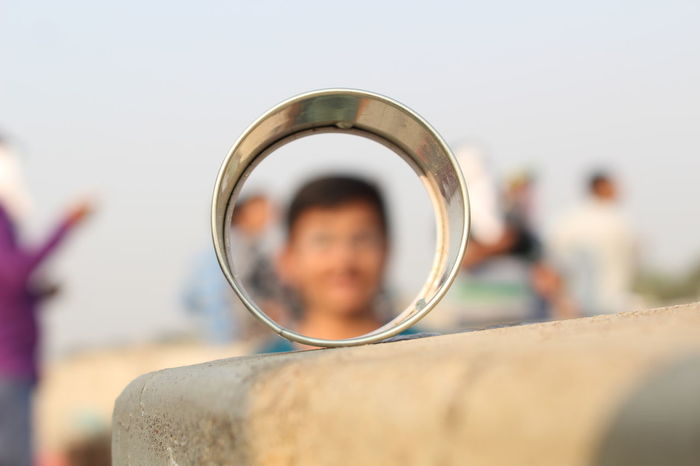 EyeEm Selects Only Men Selective Focus Focus On Foreground Outdoors Sport Close-up Rings Weather Blurred Background First Eyeem Photo