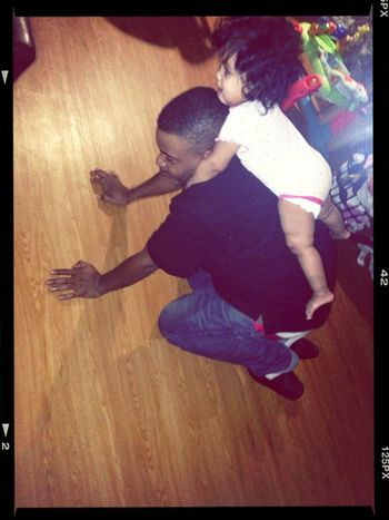 I swear he's the BEST daddy in the world!