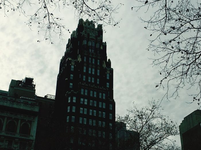 Traveling Building New York