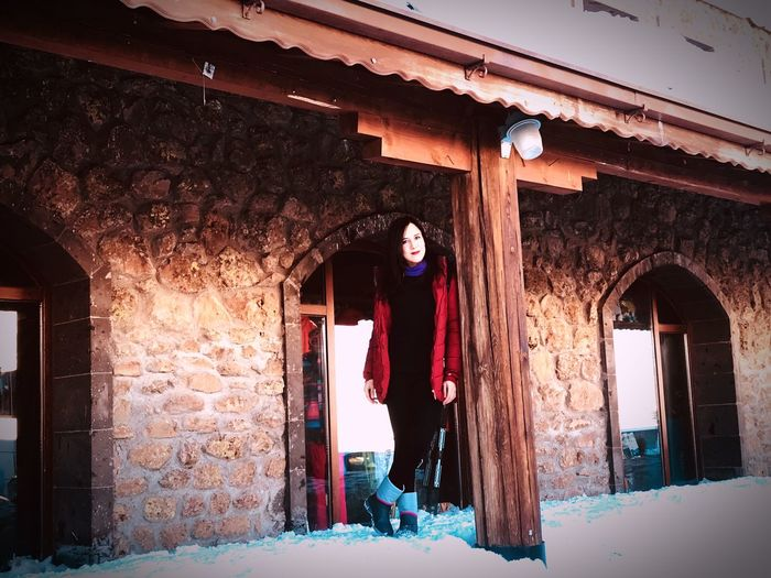 Kar Erciyes Mountain Cold Temperature Winter Snow One Person Architecture Day Adult Door Nature Building Snowing Built Structure Warm Clothing Building Exterior Clothing Entrance Men Standing My Best Photo Humanity Meets Technology My Best Photo
