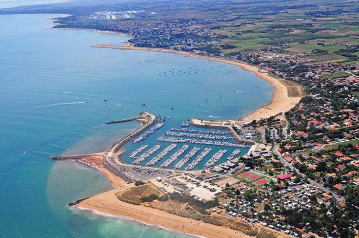 Atlantic Ocean View Aerial Airplane View Ocean Sea Sky View From The Top Floor Ultralight View Ultralightplane