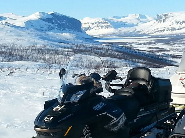 Relaxing Enjoying Life On A Health Kick Snowmobile Winter Landscape EyeEmBestPics Cold Days Winter Mountain View