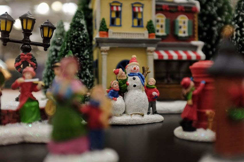 Visual Journal October 2018 Omaha, Nebraska S.ramos October 2018 Visual Journal Photo Diary Always Making Photographs Camera Work EyeEm Best Shots Getty Images Photo Essay FUJIFILM X100S 35mm Camera Long Form Storytelling A Day In The Life Everyday Life Christmas Decoration Christmas Miniatures Diorama Snowman Shallow Depth Of Field Macro Photography Figurine  Representation Human Representation Male Likeness Art And Craft Creativity Statue Religion Sculpture Selective Focus Figurine  Building No People Spirituality Female Likeness Architecture Belief Built Structure Decoration Toy Place Of Worship