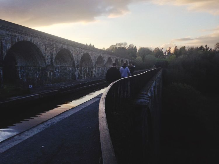 Wales Chirk Aqueduct Canal Long Way Down The Great Outdoors - 2015 EyeEm Awards Peaceful Calm Traveling Nature On Your Doorstep