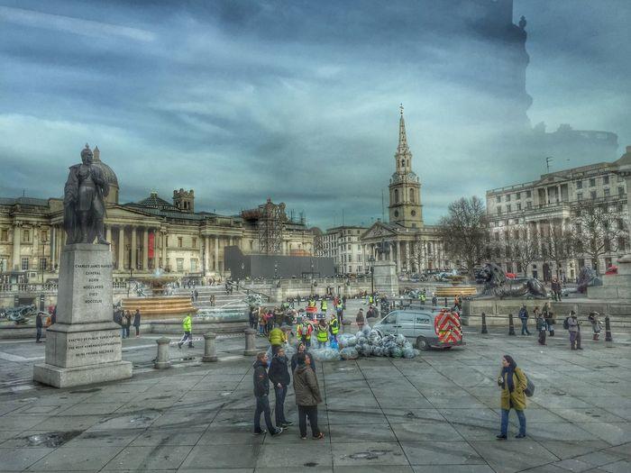 Trafalgar Square First Eyeem Photo