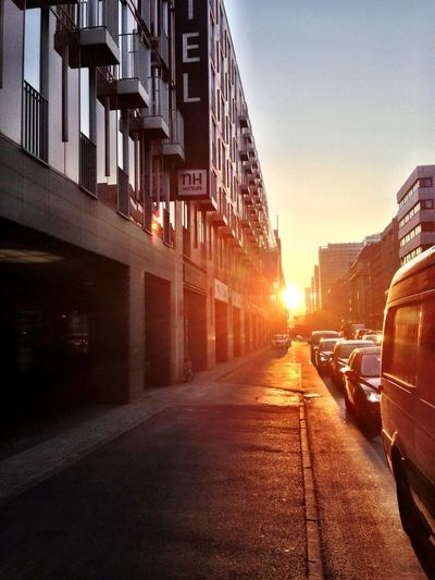 On My Way To Work Good_morning Look Back The Sun Rises In The East