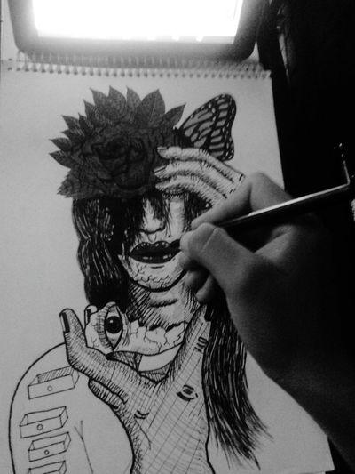 Santarosa Follow4follow Dibujando Happiness Peruvian Human Graffiti Dibujo A Lapiz Dibujoartistico Weekend