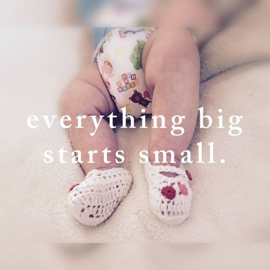 Showcase March Inspire Deep Thought Knitted  Babys Little One Shoe Quote Of The Day  Spring Love Happiness Breastfed Baby Serenity And Love My Love Close Up Guidance Choose Happiness