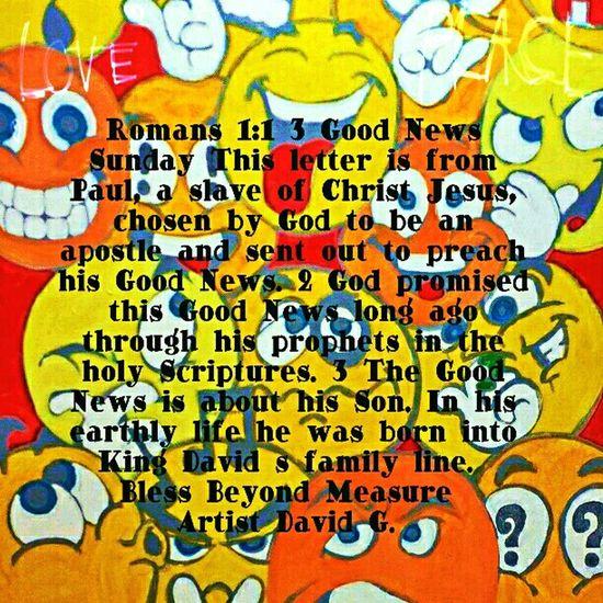 Grace & Peace Good News Sunday