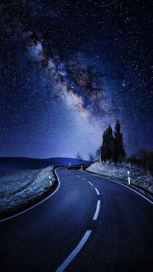 Star - Space Astronomy Night Milky Way Galaxy Sea Constellation