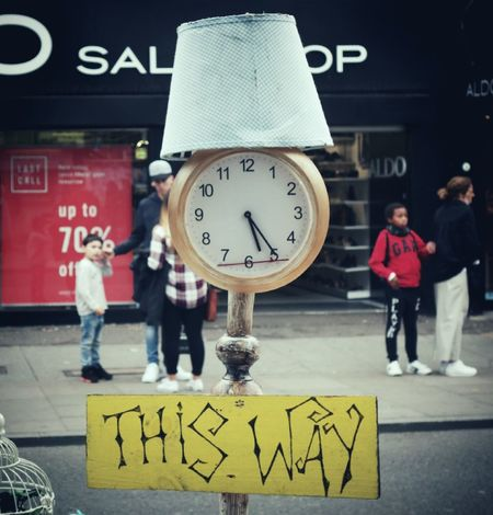 Street Sign Street Signs Street Photography People People Photography Walking Walking Around London Streets Street Life EyeEm Gallery City Life LONDON❤ London Urban Exploration City Street My City United Kingdom Warning Sign Clock Clocks At Street London Lifestyle