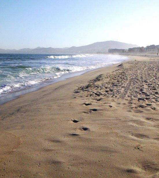 Beach Sea Sand Horizon Over Water Sky Nature Outdoors Day Wave No People Water EyeEmNewHere Cabo San Lucas Mexico Pacific Ocean Pacific Coast Landscape Windy Mountainscape Beachwalk Beach And Mountain Beach And Mountains Beach And Town Copy Space Tropical Breeze