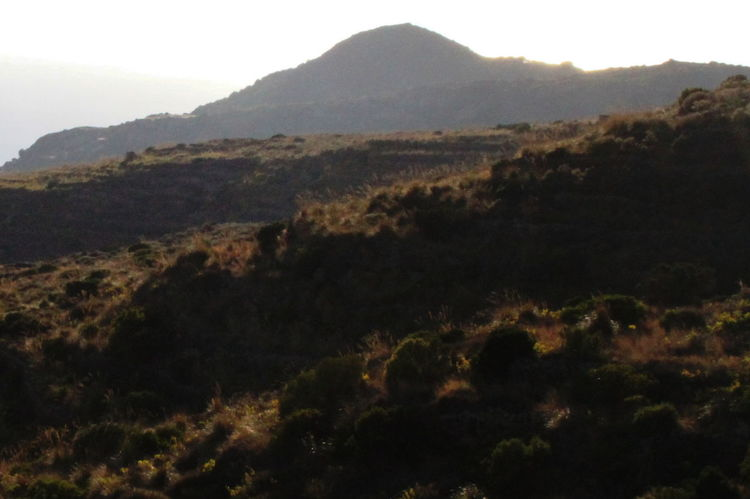 Before Sunset Pantelleria Day Landscape Mountain Nature No People October 2015 Outdoors Scenics Sky