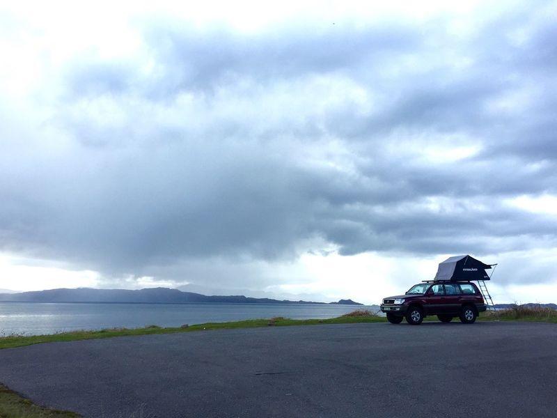 Land Vehicle Overland Overlanding Scotland Lost In The Landscape