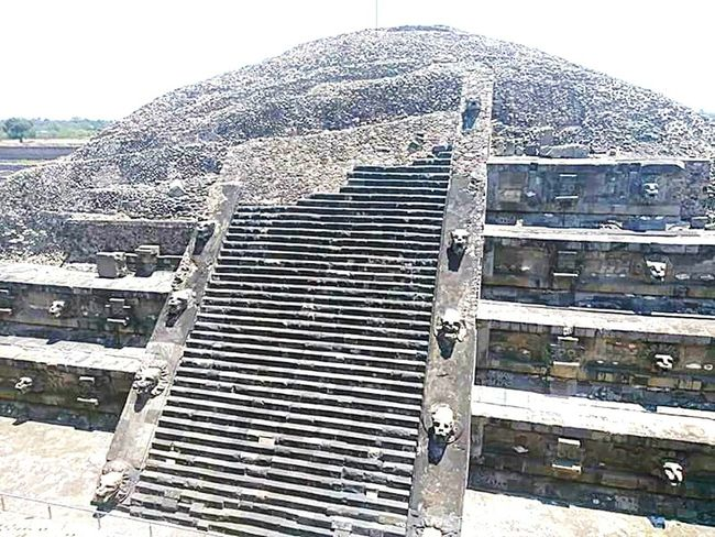 Mexico Pyramid Outdoors Ancient Civilization