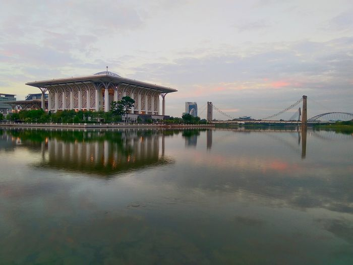 Putrajaya Iron Mosque Travel Photography Built Structure Building Exterior Morning Blue Hour Golden Hour Malaysia Architecture