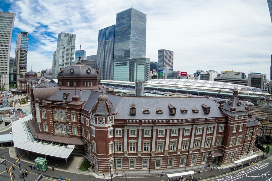 東京駅全景 / Panoramic view of Tokyo Station Panoramic Photography Panoramic View Panoramic Station Fisheye Olympus EyeEm Best Shots EyeEm Best Shots - Landscape EyeEm Best Shots - Architecture Tokyo Station