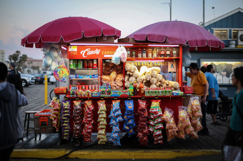 Chips - Adult Day Food Food And Drink For Sale Large Group Of People Lifestyles Market Market Stall Outdoors People Real People Sky