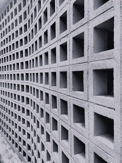 Full Frame Pattern Backgrounds No People Design Textured  Repetition Square Shape Geometric Shape Shape Metal Indoors  Architecture Abstract Flooring Built Structure Close-up Textile Day Concrete