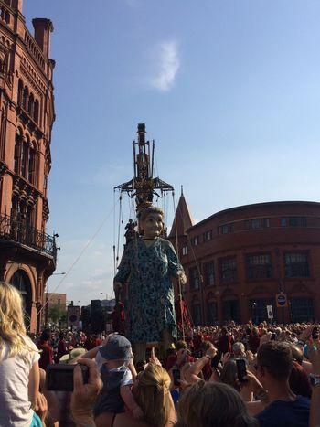 The Street Photographer - 2014 EyeEm Awards Giants Liverpool Growing Better