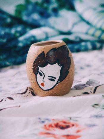 I love handmade things.. Handmade Things Beauty Of Women Jar On My Bed Cute Abstract