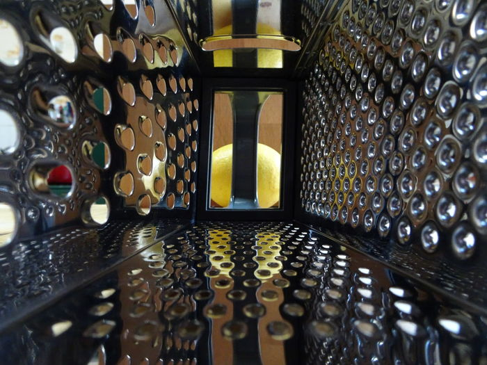 Background Cheese Grater, Grater, Metallic, Silver, Holes, Sharp Close-up Design Full Frame Geometric Shape Handle Illuminated Indoors  Inside, Inside A Cheesegrater Lemon In Background, Modern No People Pattern Maximum Closeness
