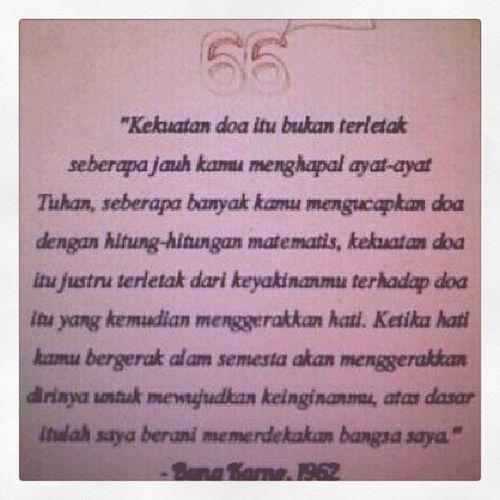 The secret of INDONESIA Bungkarno Merdeka DOA Goalpraying Loa Fisikakuantum Ikhlasinside TeknoHati SalamIkhlas