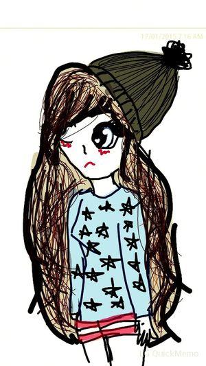 No se que tienes, pero lo tienes. My Drawing Cute..♡ Beauty.<3 Hello World