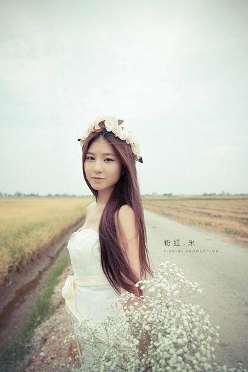 Portrait Colorportrait Beauty Weddinggown