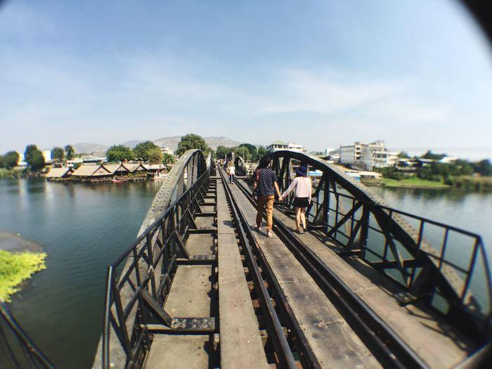 RePicture Travel Thailand Wwr II Bridge Historical