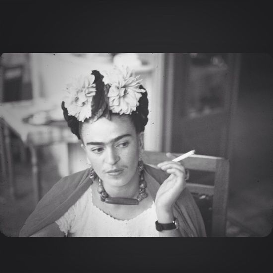 Frida Kahlo Inspired Inspiration Answer to all my questios..