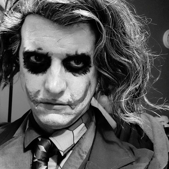 Blackandwhite Joker Halloween