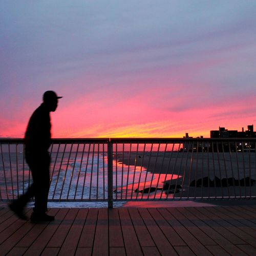 Silhouette Soul: Coney Edition Coney Island Brooklyn Sunset Sunset Silhouettes Silho