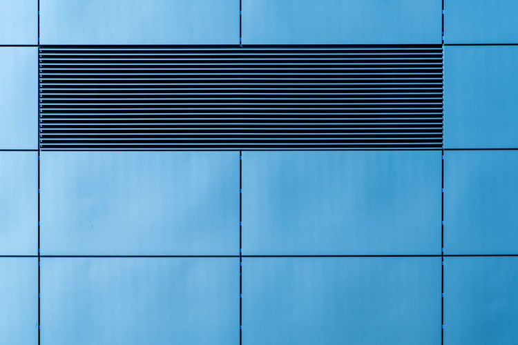 Colour Your Horizn Futuristic Grid Lines Modern Modern Architecture Architecture Backgrounds Blue Building Exterior Built Structure City Close-up Day Full Frame Geometric Shape Lines And Shapes Minimalism Minimalistic No People Outdoors Pattern Trellis Window