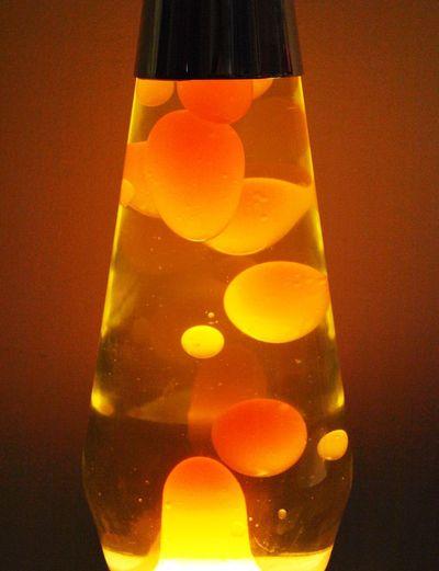 Design Lighting Close-up Design Lamp Glass Glass - Material Illuminated Lamp No People Orange Color Shape Transparent
