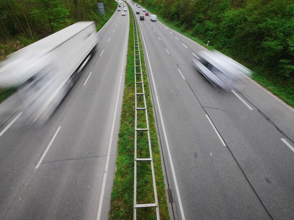 Day Forest Green Color Growth High Angle View Highway Nature No People Outdoors Road The Way Forward Transportation