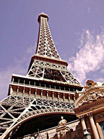 Las Vegas Blue Sky París Hotel-Las Vegas, Nevada ❤ Want To Go Back Having Fun Leisure Activity No People Taking Photos