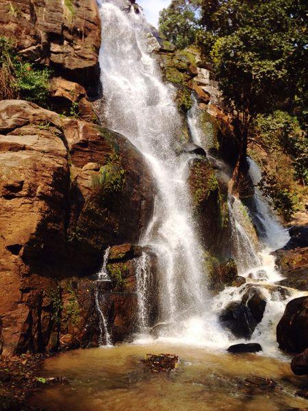 Tanzania Outdoors Nature Waterfall Soni Waterfalls Lushoto Summer Vibes Africa Beauty In Nature Waterfall In Mountain Eye Em New Here