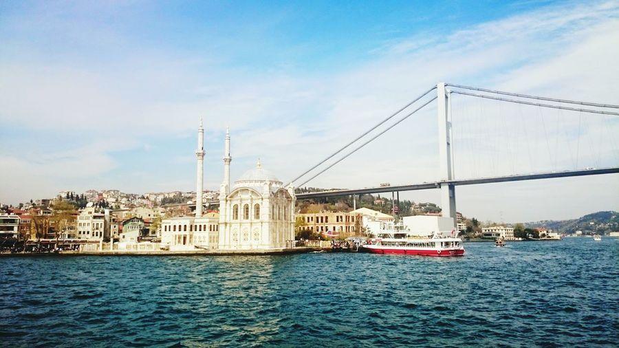 Boğaz turu Relaxing , Sea And Sky , Camii , Bogazturu , Mosque , Taking Photos , Istanbull