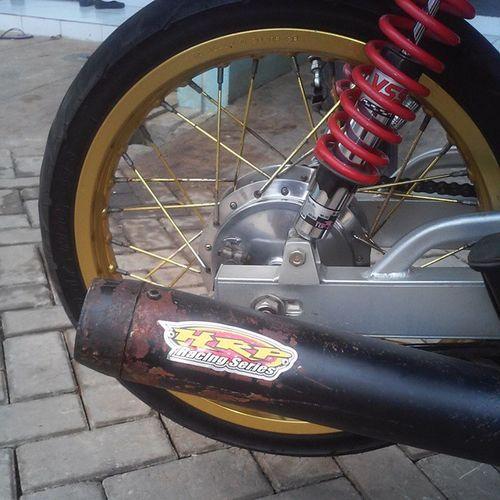 Sound guriiihhh @hendriansyah76 @hendriansyah_motor_sport StandarRacing Exhaustproduct Hendriansyah76 HRP