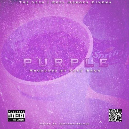 "New Single Artwork ""Purple"" | The Vets"