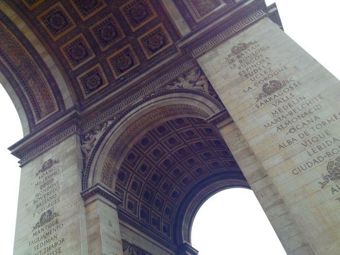 Throwacurve L'arc De Triomphe