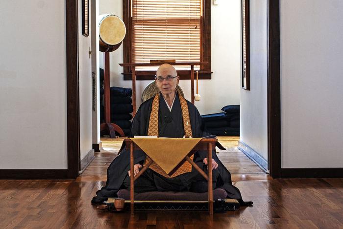 Buddhism Buddhist Comfortable Culture Door Indoors  Interior Lifestyles Meditation Real People Religion Sitting Spirituality Teaching Window Women Zazen Zen Zendoodle