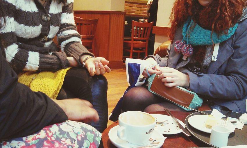 Meeting Friends Great Atmosphere Coffee Break