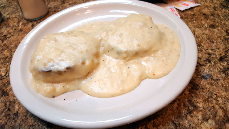 Biscuits and gravy Biscuits And Gravy Breakfast Breakfast ♥ BreakfastTime  Food And Drink From Above  Biscuits Biscuits🍪 Breakfast Time Close Up Close-up Closeup Day Eat Food Food Photography Foodphotography Freshness Gravy Indoors  Lets Eat No People Plate Ready-to-eat Yummy