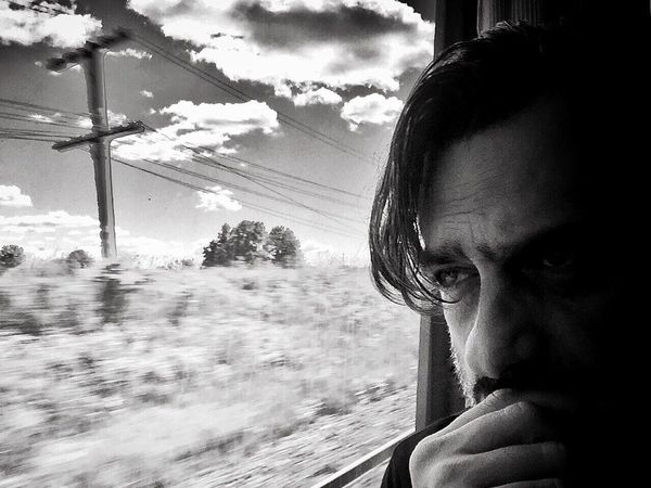 On The Road On The Train Toronto-Montreal Train Window That's Me Eye4photography  Clouds And Sky EyeEm Best Shots